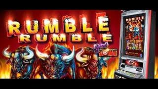 Ainsworth Technology  -  Rumble Rumble :  Bonus and Line Hit on a $ 1.00 bet