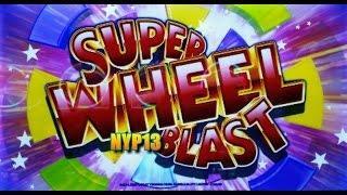 Aristocrat: Super Blast Wheel - Miss Liberty Slot Bonus MAX BET WIN