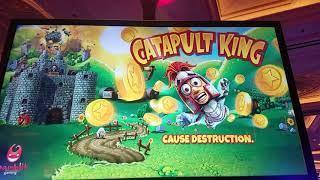 •FIRST LOOK! - Catapult King (Gamblit Gaming) - Skill-Based Slot Machine