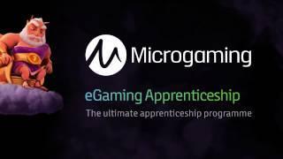 Microgaming eGaming Apprenticeship 2017