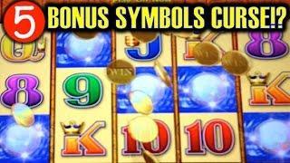 5-BONUS SYMBOLS CURSE!? | TIKI TORCH (Aristocrat) Slot Machine Bonus