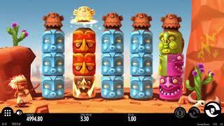 Turning Totems slot from Thunderkick - Gameplay