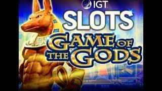 *handpay* Live Play Max Bet Bonus on Game of the God's with re-triggers #ShitTheBed