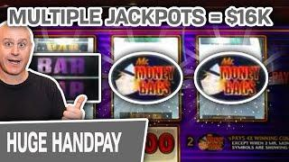 ⋆ Slots ⋆ $16,000 From MULTIPLE Jackpots ⋆ Slots ⋆ $100 SPINS For My BIGGEST WINS EVER on Mr. Money Bags