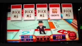Epic Monopoly Slot Machine Around The Board Bonus Round