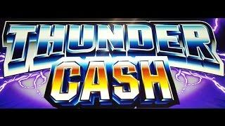 25c Denom AINSWORTH Thunder Cash - **BIG WIN** Free Games w/re-trigger