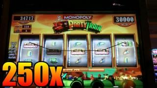 WMS - Monopoly Party Train Slot Line Hit