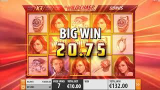 The Wild Chase casino slots - 435 win!