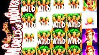•Max Bet on NEW World of Wonka Slot  • Slot Machine Bonus