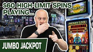 ⋆ Slots ⋆ $60 HIGH-LIMIT Money Link Spins! ⋆ Slots ⋆ AMAZING Vegas Handpay on an AMAZING Game