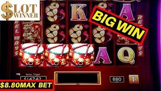 SUPER BIG CASINO WIN Dancing Drums Slot Machine - We have a new 2nd Channel!