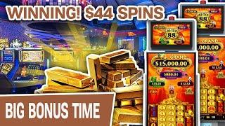 ⋆ Slots ⋆ WINNING! $44 Gold Stack Slot Spins in Hollywood, Florida ⋆ Slots ⋆ Can I Get a MINI BOOM?
