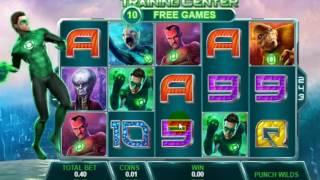 Green Lantern New Playtech slot dunover tests....