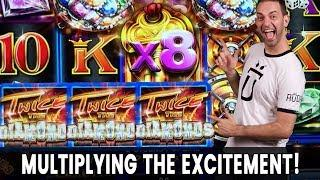• • TWICE the Diamonds • Multiplying the EXCITEMENT with BCSlots