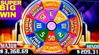 Super Wheel Blast Slot MASSIVE BONUS Won/50x Multiplier | Timber Wolf & Buffalo Gold Max Bet Bonuses