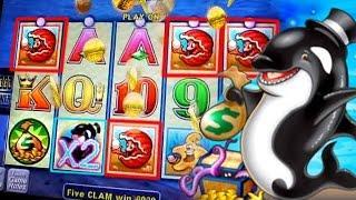 Whales of Cash Live Bonus + HIT !!! 5c Aristocrat Vdeo Slots