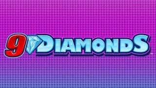 9 Diamonds Slot - NICE SESSION - All Features!