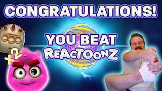 SUPER MEGA BIG WIN IN REACTOONZ (FINALLY!!!)