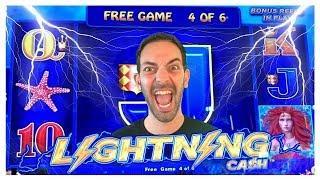 • HIGH Limit •Lightning Link Machine at $5 Bet • San Manuel Casino • Slots w Brian Christopher #AD