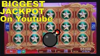 • •BIGGEST JACKPOT on YOUTUBE• • At Dragon's Law Twin Fever Slot •HUGE HANDPAY JACKPOT•