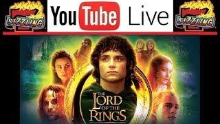 LIVE SLOT MACHINE PLAY - LORD of the RINGS + Live Chat & Special Guests - JACKPOT TIME!