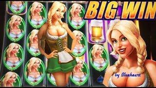 •WATCH ME RETRIGGER• HEIDI'S BIER HAUS slot machine 90 SPINS of BONUS WINS!