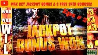 ( Halloween Eps : 2 ) Aristocrat - Walking Dead 2 : Governor Jackpot Bonus & 2 Bonuses on a Max Bet