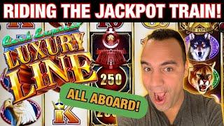 ⋆ Slots ⋆ $25 MAX BET GRAND ELIGIBLE Cash Express Luxury Line JACKPOT HANDPAY!! ⋆ Slots ⋆ New All Ab