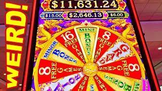 WEIRD NEW GAME!!!! * YOU DECIDE IF MOM VLR IS A GENIUS!!! - New Las Vegas Casino Slot Machine Bonus