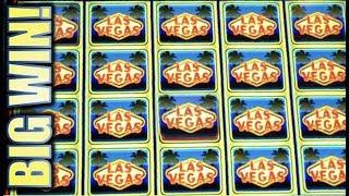 •QUICK HIT LAS VEGAS! • BIG WIN! • HOW MANY QUICK HITS?  W. CALIFORNIA WHEEL OF FORTUNE Slot Machine