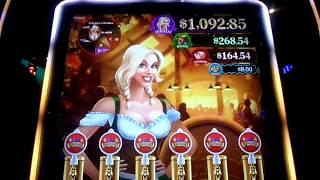 **BIG WIN** / NEW HEIDI'S BIER HAUS Slot Machine Bonus