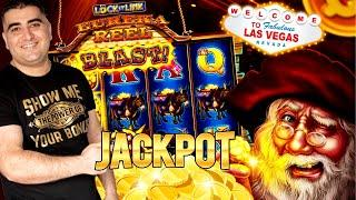 High Limit LOCK IT LINK Slot HANDPAY JACKPOT ! GROUP PULL With Bomba Slots ! Live Slot Play In Vegas