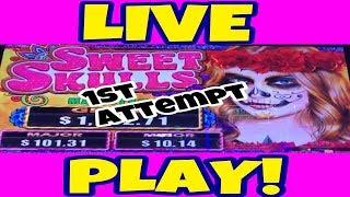 ARISTOCRAT SWEET SKULLS | LIVE PLAY | $3 MAX BET