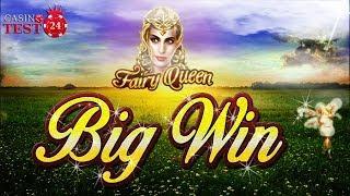 BIG WIN on Fairy Queen - Novomatic Slot - 1€ BET!