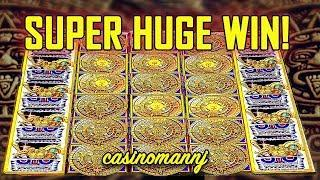 "•SUPER HUGE WIN• - •""TOP SYMBOL"" HIT MULTIPLE TIMES! - MAYAN CHIEF GREAT STACKS SLOT•"