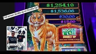 How many $20's does it take to get a bonus•Full screen double up on Mighty Cash Double Up
