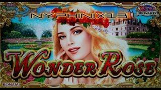 •NEW DELIVERY• Konami | Wonder Rose Slot Bonuses Nice Wins