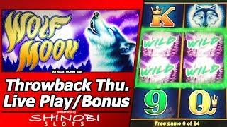 Wolf Moon Slot - TBT Live Play and Free Spins Bonuses