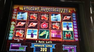 Don Ho's Slot Machine Bonus - Volcano Superscatter Spins