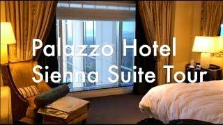 Palazzo Hotel Las Vegas Video Suite Tour | Sienna Suite Upgrade Luxury Suite • We Know Vegas! The Ve