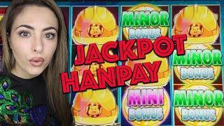 WOW! AMAZING HANDPAY JACKPOT on HUFF n PUFF Lock IT LINK in Vegas!