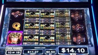 Moon maidens slot machine free spins