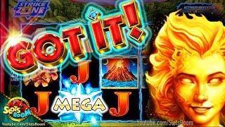 STAR WATCH MAGMA & FIRE HUGE WIN!!!!! 1c KONAMI Slot Game