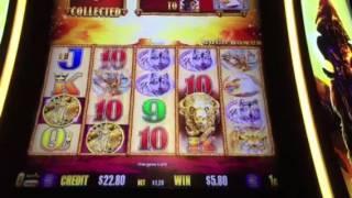 Buffalo Gold Slot Machine Free Spin Bonus #2 New York Casino Las Vegas