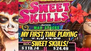 HOW SWEET WAS SWEET SKULLS SLOT MACHINE? • Dianaevoni