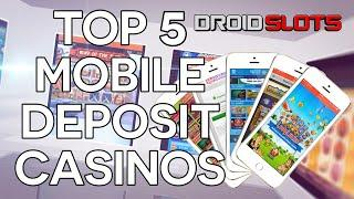 Mobile casino phone bill deposit