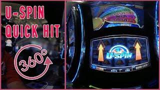 •  U-Spin in 360• • Live Play at Cosmopolitan Casino • 360• Slot Machine Pokies EVERY Tuesday