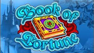Book of fortune Big Bonus!..With a £500 roll in!!