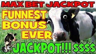 AMAZING SLOT JACKPOT!!!!! • MOST EXCITING BONUS EVER!!! • MAX BET HUGE WIN