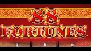 88 Fortunes Slot Machine-Live Play With Gwen